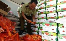 Lâm Đồng: Thu giữ 4,1 tấn nông sản gắn mác Trung Quốc nhập lậu