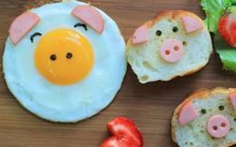 Năng lượng cho ngày mới với bữa sáng thơm ngon