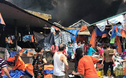 Hà Nội: Cháy chợ Sóc Sơn, nhiều nữ tiểu thương khóc ròng trong bất lực