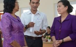 Cán bộ Hội Việt Nam-Campuchia trao đổi nghiệp vụ