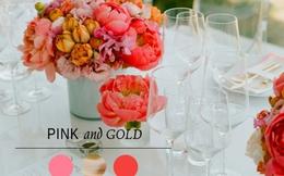 5 gợi ý cắm hoa tròn trên bàn tiệc cưới