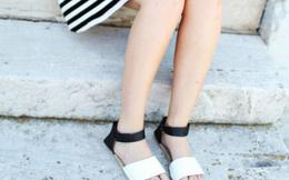 Tự chế sandal bệt đẹp long lanh