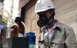 Test nhanh thấy mẫu nước, không khí quanh Công ty Rạng Đông vẫn…bình thường