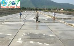Ý tưởng sáng tạo giúp nông dân Quảng Bình tăng năng suất muối