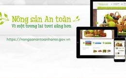 Thêm một kênh thông tin về nông sản sạch hữu ích cho người tiêu dùng thủ đô