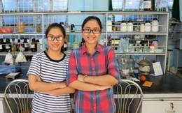 2 nữ sinh Quốc học Huế chế tạo túi sinh học kháng khuẩn, tự phân hủy