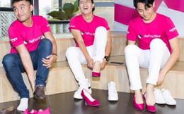 Nhiều nam nghệ sĩ đi giày cao gót vì bình đẳng giới