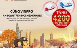 VinPro tặng mũ bảo hiểm cho chủ thẻ VinGroup Card