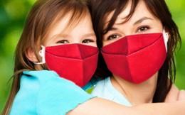 Khẩu trang chống ô nhiễm không khí dành riêng cho trẻ em