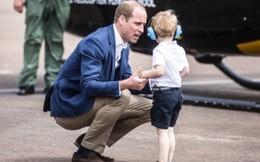 Học lỏm bí quyết dạy con của hoàng tử William