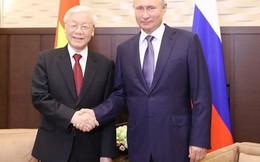 Đánh dấu mối quan hệ đối tác chiến lược toàn diện, sâu sắc Việt Nam - Liên bang Nga