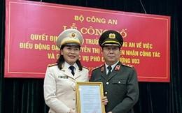 Bộ trưởng Bộ Công an điều động Đại tá Nguyễn Thị Xuân giữ chức Phó Cục trưởng
