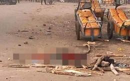 Nổ bom hụt, nữ khủng bố bị đánh chết giữa chợ