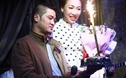 'Sao Mai' Hiền Anh làm minishow mừng sinh nhật chồng