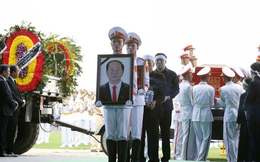 Lễ an táng Chủ tịch nước Trần Đại Quang tại Ninh Bình