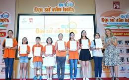 20 em nhỏ đoạt giải cuộc thi 'Đi tìm Đại sứ Văn học'