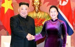 Chủ tịch Quốc Hội Nguyễn Thị Kim Ngân hội kiến Chủ tịch Kim Jong-un