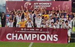 Thắng Thái Lan, bóng đá nữ Việt Nam vô địch Đông Nam Á