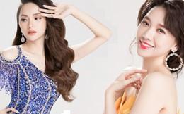 Hương Giang và Hari Won rạng rỡ tựa nữ thần