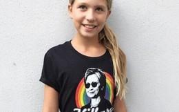Xúc động bức tâm thư bé gái 10 tuổi gửi bà Hillary