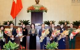 Quốc hội có thêm 3 nữ ủy viên Ủy ban thường vụ