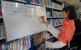 Cô giáo viết bằng chân và những học sinh đặc biệt