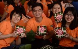 Chung tay gói 2.000 chiếc bánh chưng tặng người nghèo đón Tết