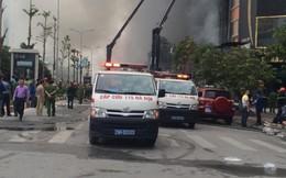 Chưa xác định được số người mắc kẹt trong đám cháy