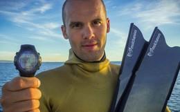 Nhà vô địch người Nga lập kỷ lục lặn sâu 118m không cần lấy hơi