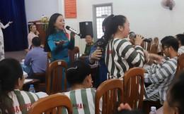 Lời ca tiếng hát mang thông điệp 'sống đẹp' đến với nữ phạm nhân