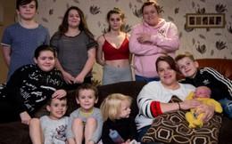 Cuộc sống náo nhiệt ở gia đình 10 con vì mẹ 'nói không' với bao cao su