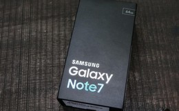 Cục Hàng không khuyến cáo Galaxy Note 7 có thể nổ trên máy bay