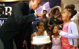 Lời chúc sinh nhật ngọt ngào bà Michelle Obama dành tặng chồng