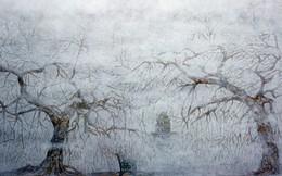 Lạc vào 'miền cổ tích' trong tranh sơn mài hiện đại
