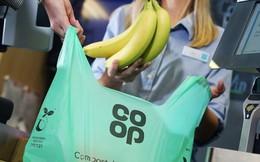 Chuỗi siêu thị Co-op của Anh bắt đầu bỏ sử dụng túi nilon