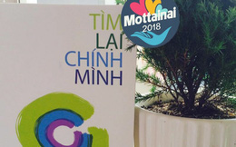 Nhà văn Nguyễn Bích Lan bán sách gây quỹ Mottainai 'Trao yêu thương - Nhận hạnh phúc'