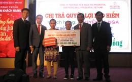 Prudential chi trả gần 1,5 tỷ đồng quyền lợi bảo hiểm cho khách hàng tại Đắk Lắk, Long An và Bình Phước