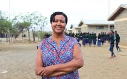 Bộ sản phẩm vệ sinh giúp nữ sinh Ethopia tự tin tiến bước