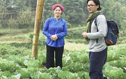 Một ngày cùng đầu bếp Luke Nguyễn thăm vườn rau an toàn của phụ nữ vùng cao