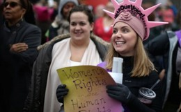 Tiếng gọi nữ quyền từ 'Tuần hành phụ nữ' phản đối ông Trump