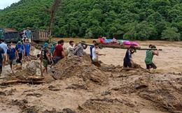 Những hình ảnh tang thương do mưa lũ tại Thanh Hóa
