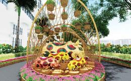 300 nhà vườn tham gia Hội chợ hoa xuân Phú Mỹ Hưng