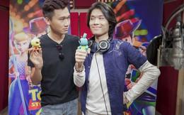 'Mr Cần Trô' Xuân Nghị và'thầy giáo mưa' Quang Trung hài hước trong 'Toy Story 4'