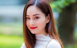Diễn viên Lan Phương đến trường quay cùng máy hút sữa