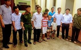 Đi chơi lạc đường, 3 cháu bé bịa chuyện bị bắt cóc ở Nghệ An