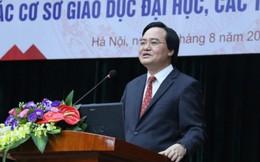 """Bộ trưởng Phùng Xuân Nhạ phản bác """"mưa điểm 10"""""""