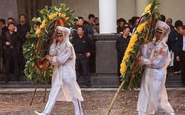 Mưa trong ngày Quốc tang tiễn đưa Chủ tịch nước Trần Đại Quang