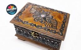 Sở hữu hộp gỗ đựng trang sức giá từ 55k