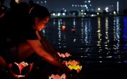 Thả đèn hoa đăng – Nét văn hóa mới tại Thành phố biển hồ Vinhomes Ocean Park