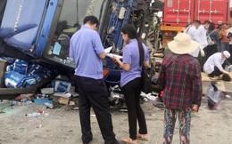 Hội LHPN Hải Dương chia sẻ với gia đình các nạn nhân vụ tai nạn liên hoàn